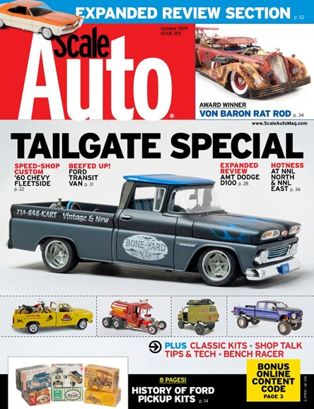 Scale Auto Magazine Cover - 10/1/2019