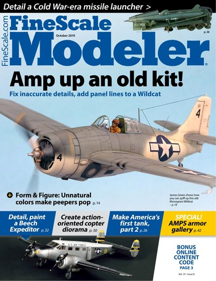 Finescale Modeler Cover - 10/1/2019