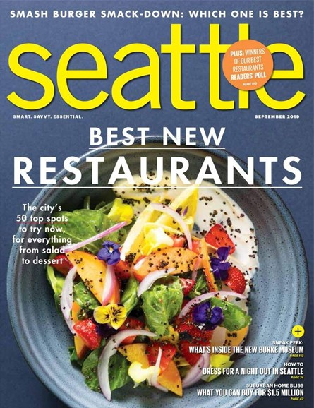 Seattle Magazine Cover - 9/1/2019