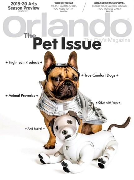 Orlando Magazine Cover - 9/1/2019