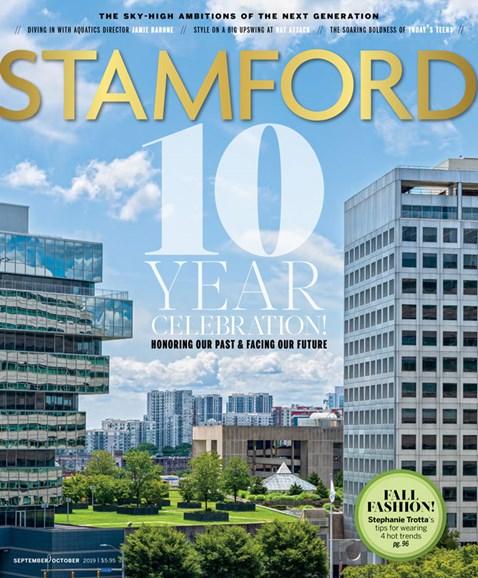 Stamford Magazine Cover - 9/1/2019