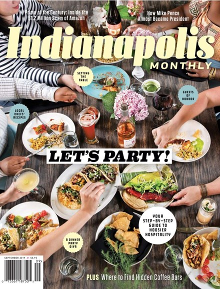 Indianapolis Monthly Cover - 9/1/2019