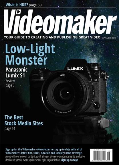 Videomaker Cover - 9/1/2019
