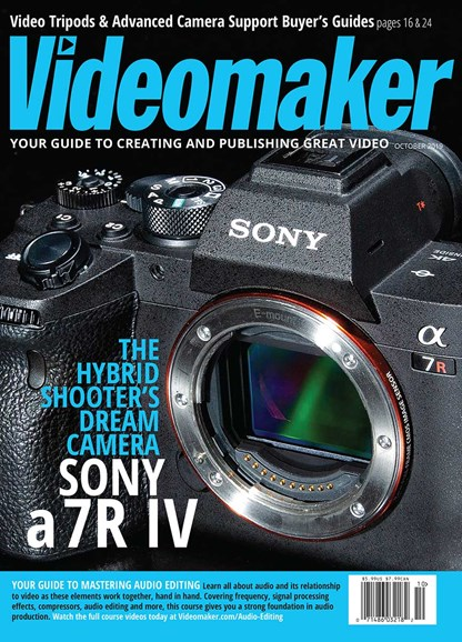 Videomaker Cover - 10/1/2019