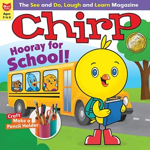 Chirp Magazine | 9/2019 Cover