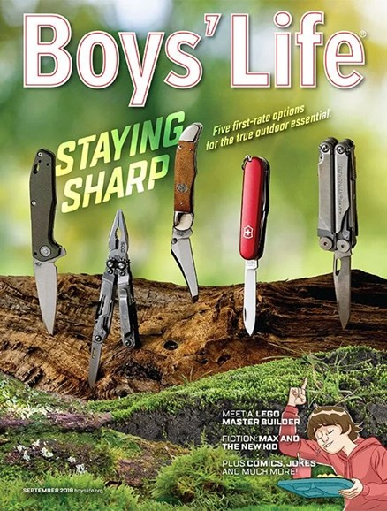 Boy's Life Cover - 9/1/2019