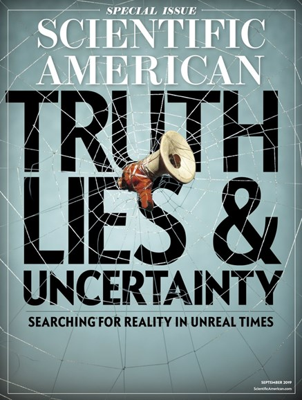 Scientific American Cover - 9/1/2019