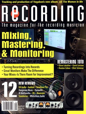 Recording Magazine | 9/2019 Cover