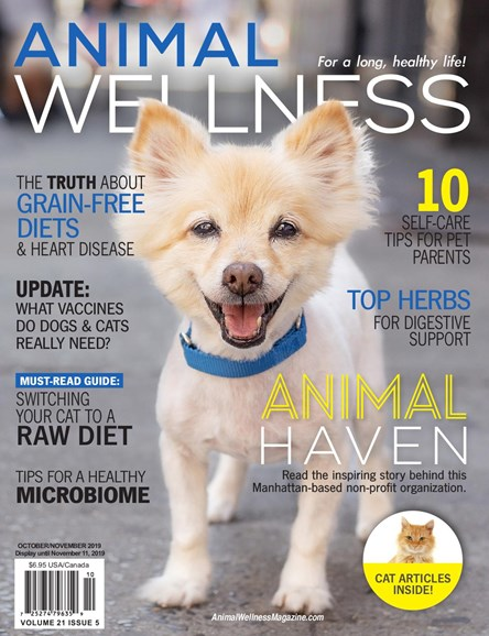 Animal Wellness Cover - 10/1/2019