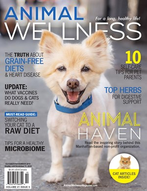 Animal Wellness Magazine | 10/2019 Cover