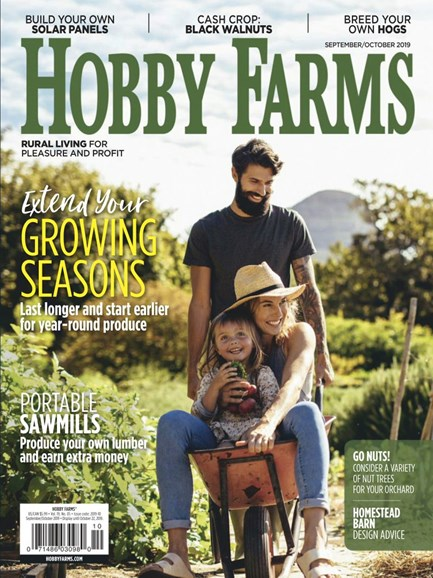 Hobby Farms Cover - 9/1/2019