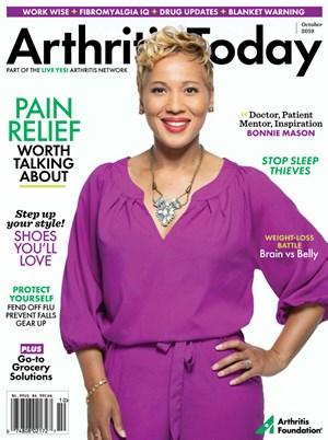 Arthritis Today Magazine | 10/2019 Cover