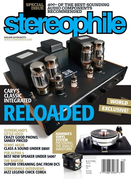 Stereophile Cover - 10/1/2019