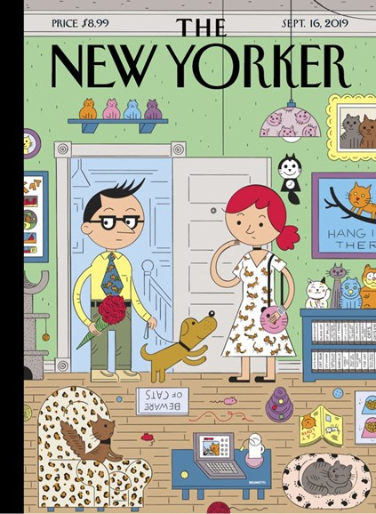 The New Yorker Cover - 9/16/2019