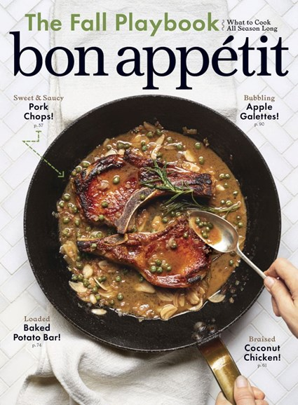 Bon Appétit Cover - 9/1/2019