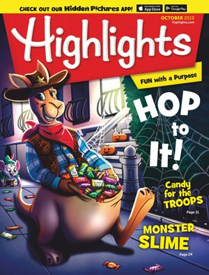 Highlights Magazine | 10/2019 Cover