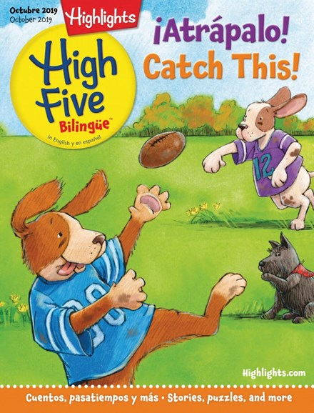 Highlights High Five Bilingue Cover - 10/1/2019