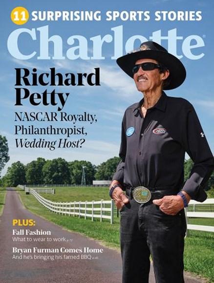 Charlotte Magazine Cover - 9/1/2019
