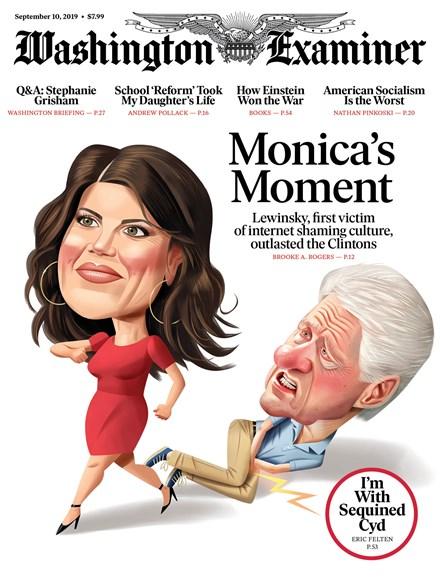 Washington Examiner Cover - 9/10/2019