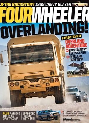 Four Wheeler Magazine | 11/2019 Cover