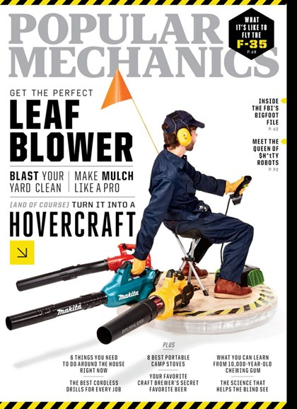 Popular Mechanics Cover - 10/1/2019