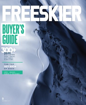 Freeskier Magazine | 9/2019 Cover