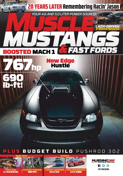 Muscle Mustangs & Fast Fords Cover - 11/1/2019