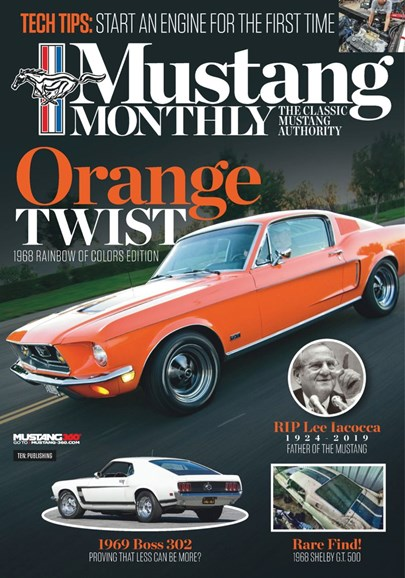 Mustang Monthly Cover - 10/1/2019