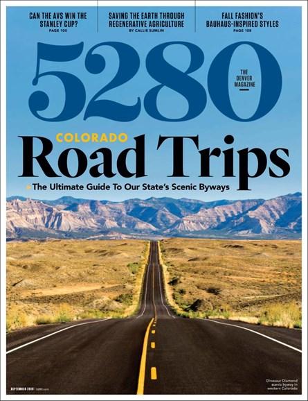 5280 Magazine Cover - 9/1/2019