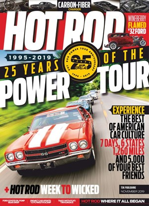 Hot Rod Magazine | 11/2019 Cover