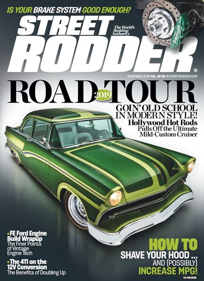 Street Rodder Cover - 11/1/2019