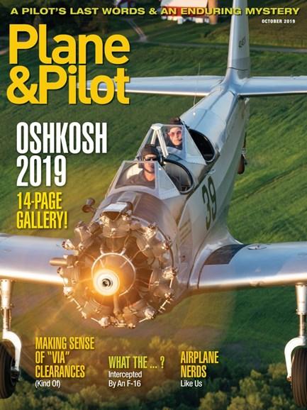Plane & Pilot Cover - 10/1/2019