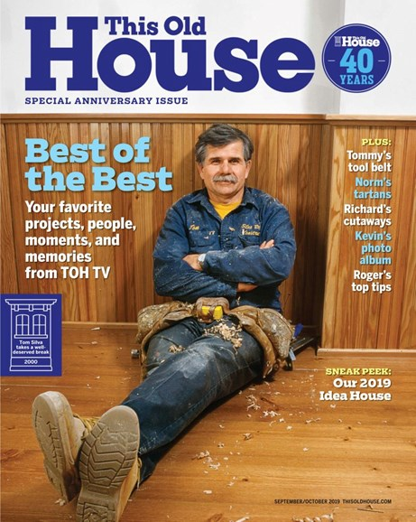 Old House Journal Cover - 9/1/2019