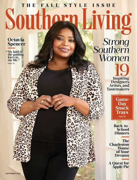 Southern Living Cover - 9/1/2019