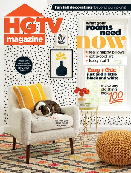 HGTV Cover - 10/1/2019