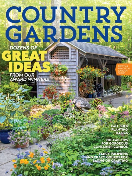 Country Gardens Cover - 10/1/2019