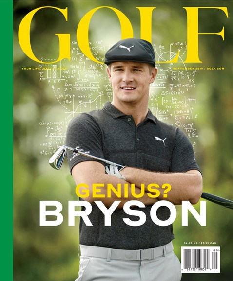 Golf Magazine Cover - 9/1/2019