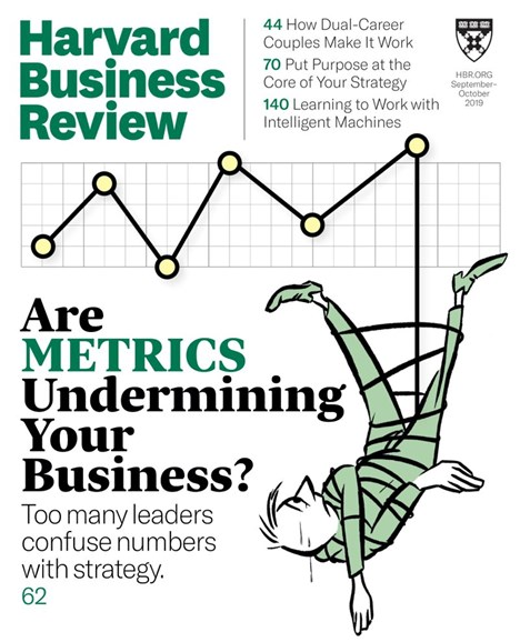 Harvard Business Review Cover - 9/1/2019