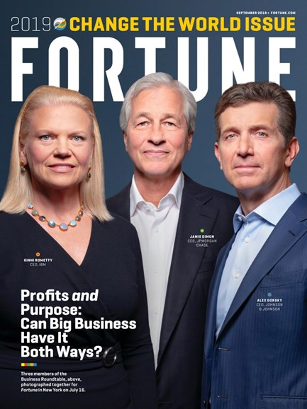 Fortune Cover - 9/1/2019