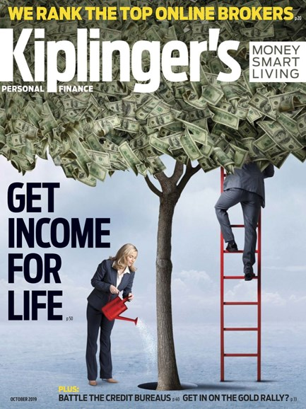 Kiplinger's Personal Finance Cover - 10/1/2019