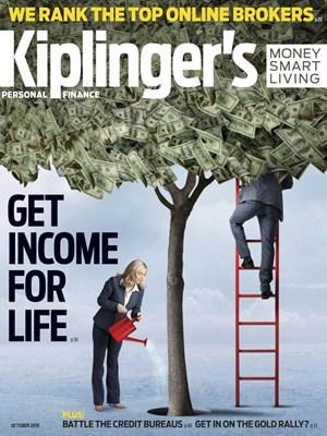 Kiplinger's Personal Finance Magazine | 10/2019 Cover