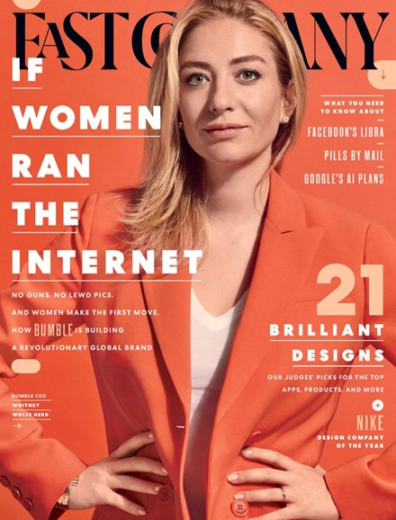 Fast Company Cover - 10/1/2019