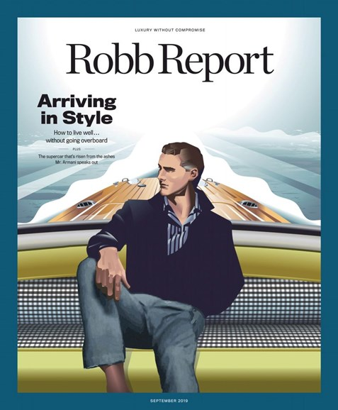 Robb Report Cover - 9/1/2019