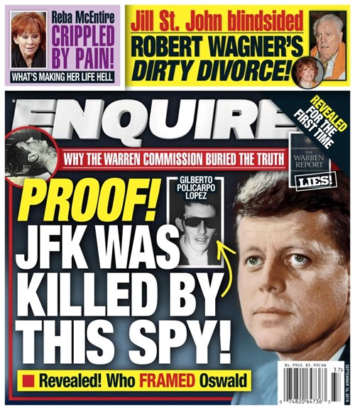 National Enquirer Cover - 9/16/2019