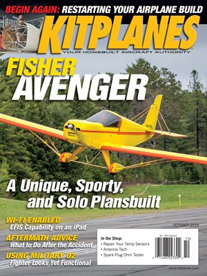 Kit Planes Magazine | 10/2019 Cover