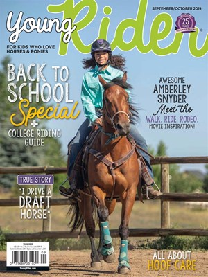 Young Rider Magazine | 9/2019 Cover