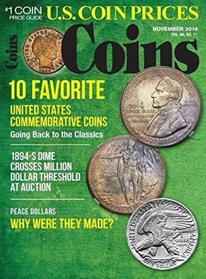 Coins Magazine   11/2019 Cover