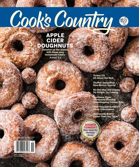 Cook's Country Cover - 10/1/2019