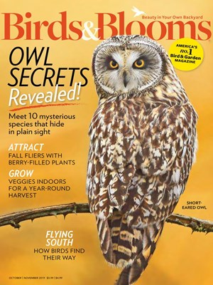 Birds & Blooms Magazine | 10/2019 Cover