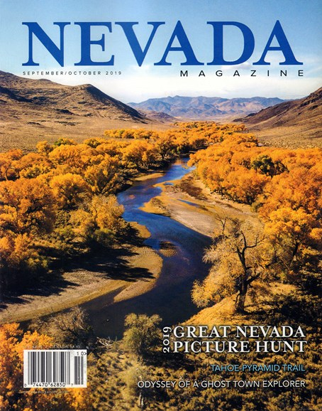 Nevada Magazine Cover - 9/1/2019